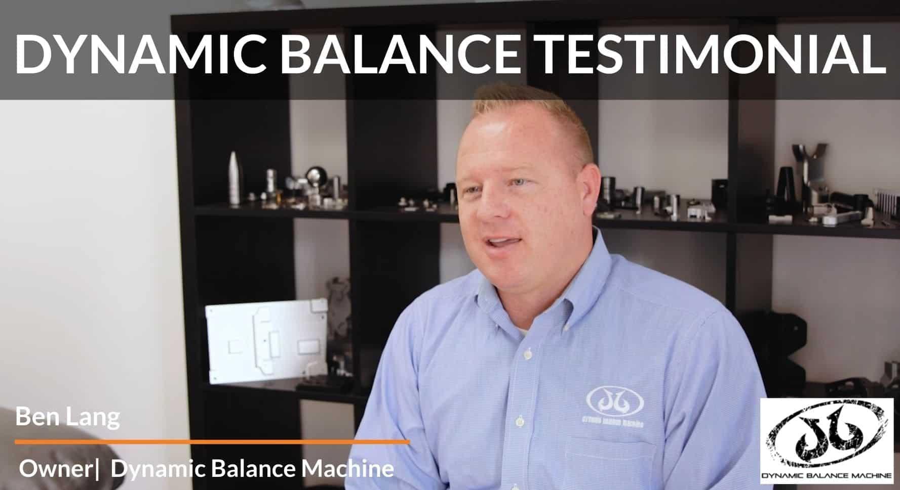 Dynamic Balance Testimonial