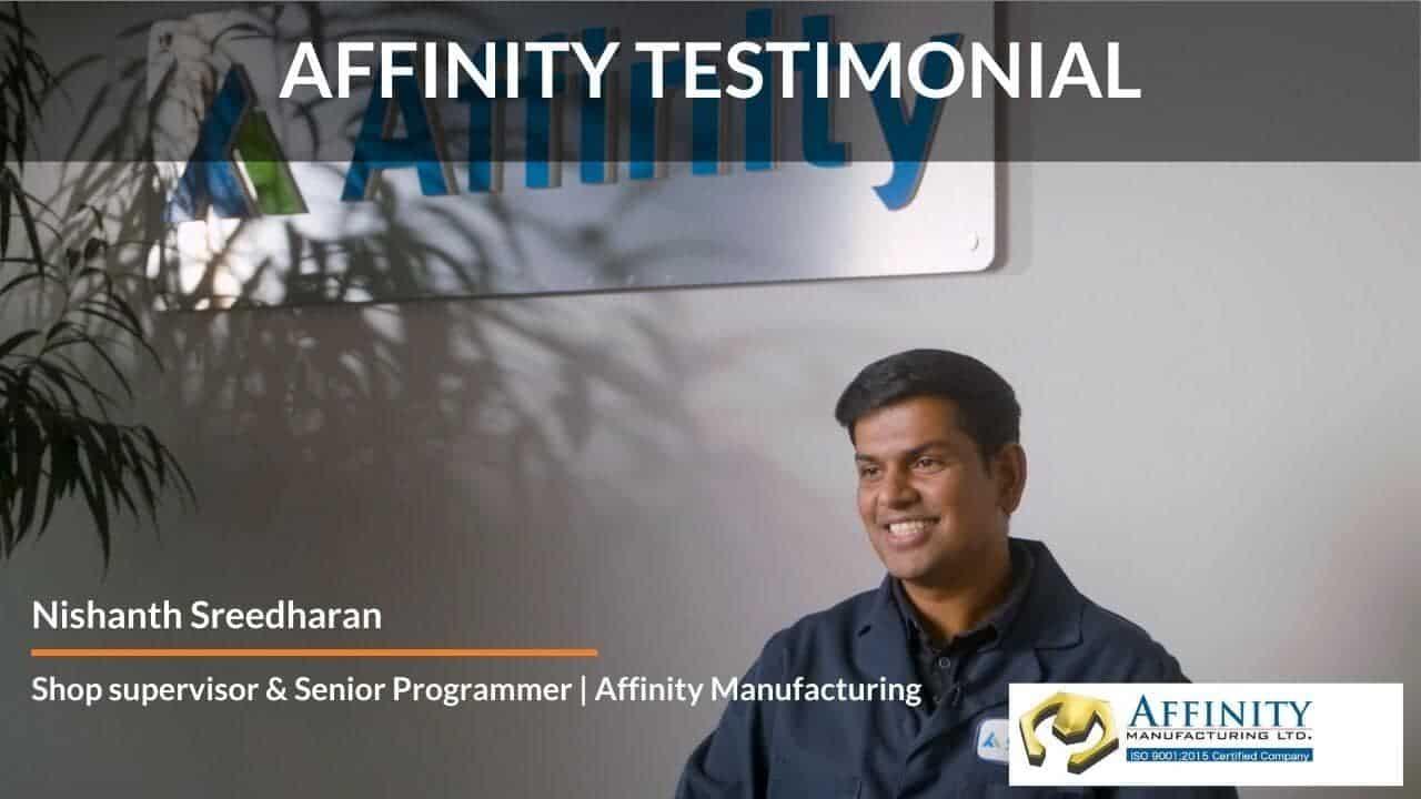 Affinity Testimonial