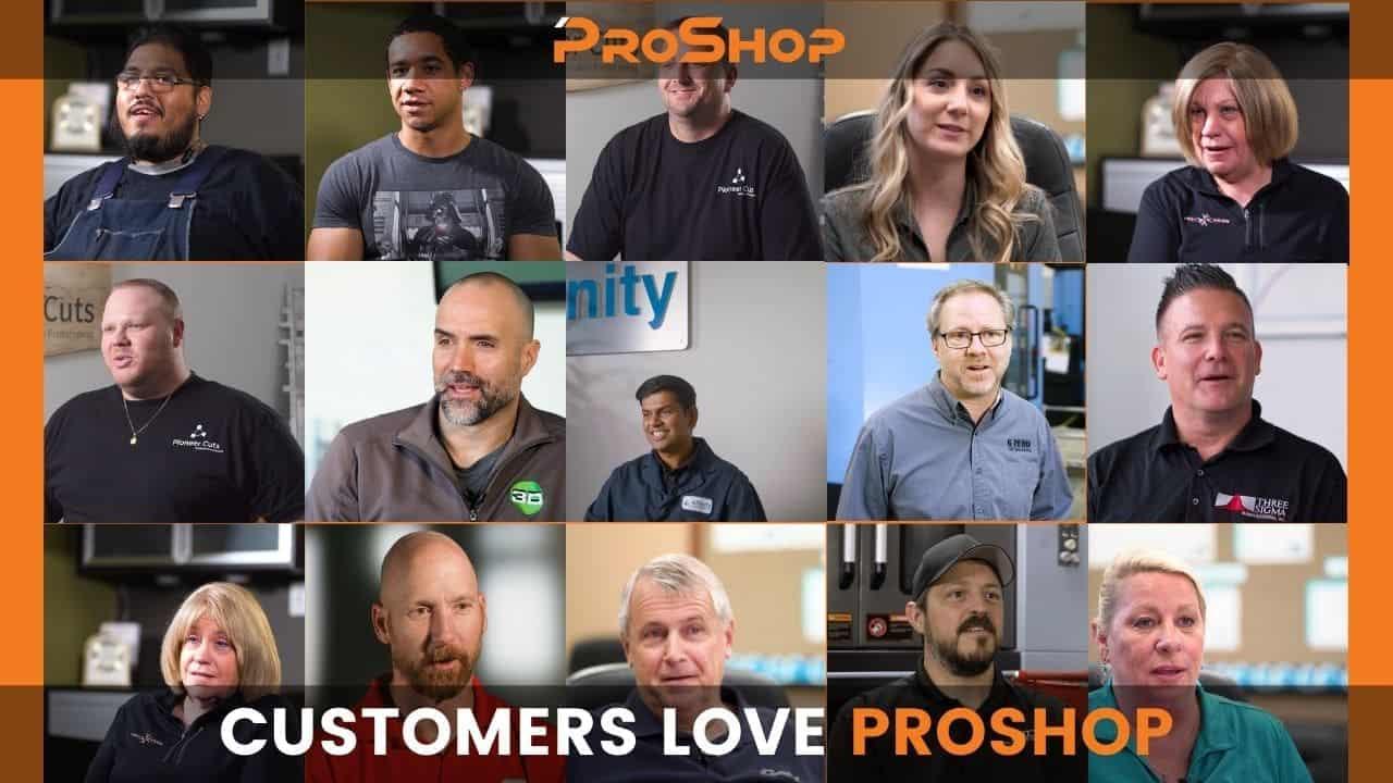 CUSTOMERS LOVE PROSHOP