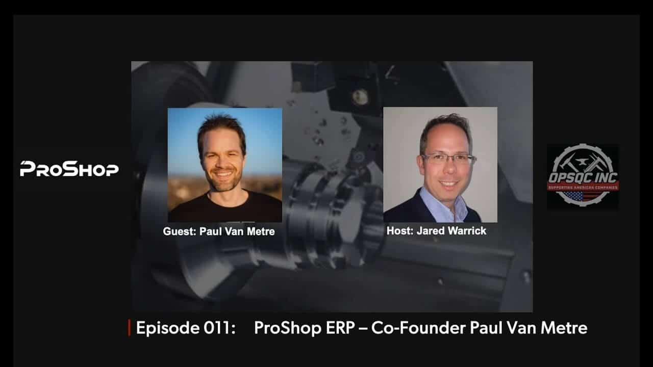 Paul Van Metre on OPSQC Podcast #11